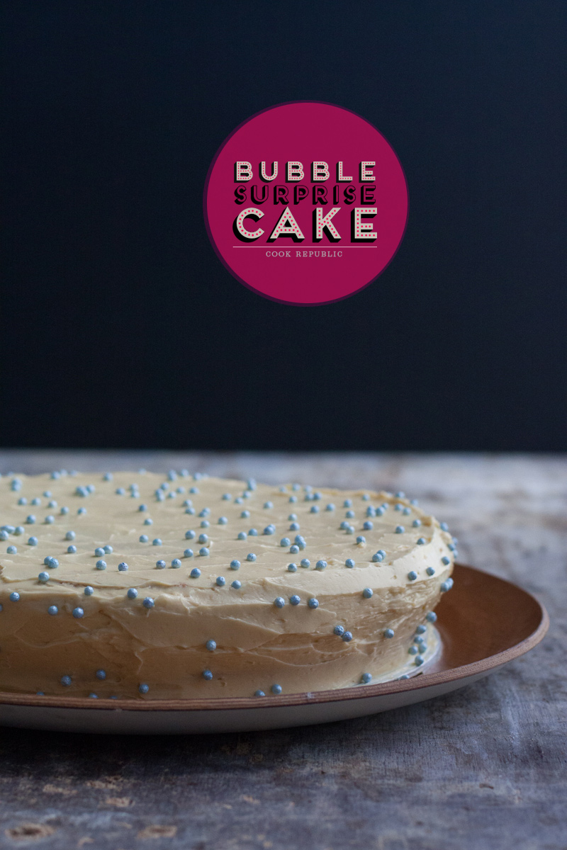 Bubble Surprise Cake - Cook Republic