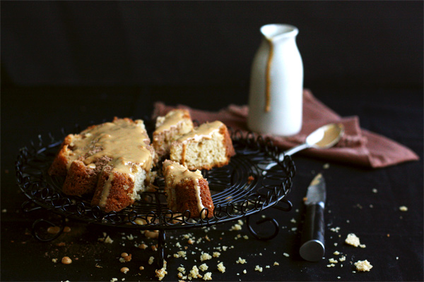 Butterscotch Cake With Caramel Cream