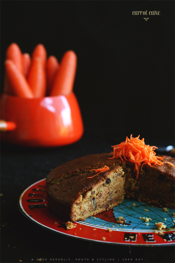 Healthy Carrot Cake - Cook Republic