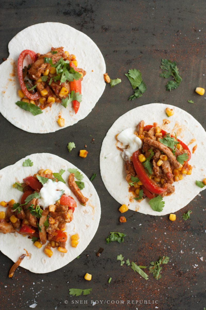 Chile Chicken Tacos - Cook Republic