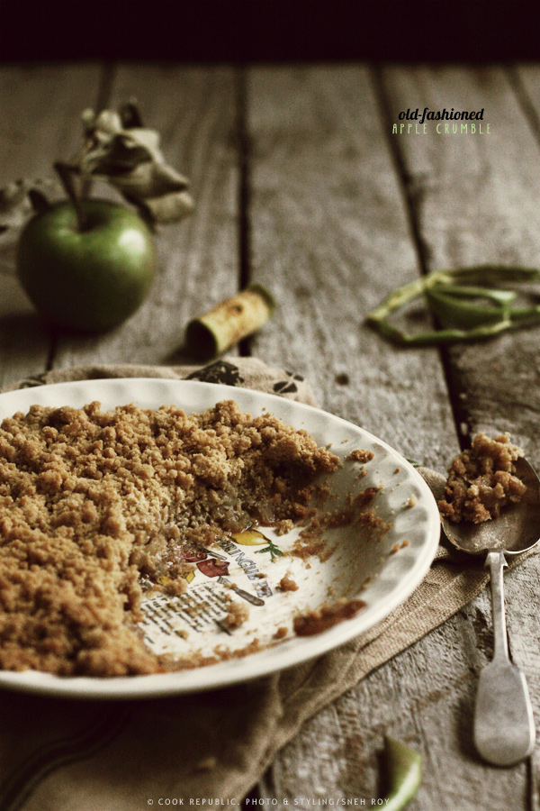 Apple Crumble via Cook Republic