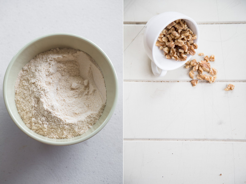 Amaranth Flour And Walnuts - Cook Republic