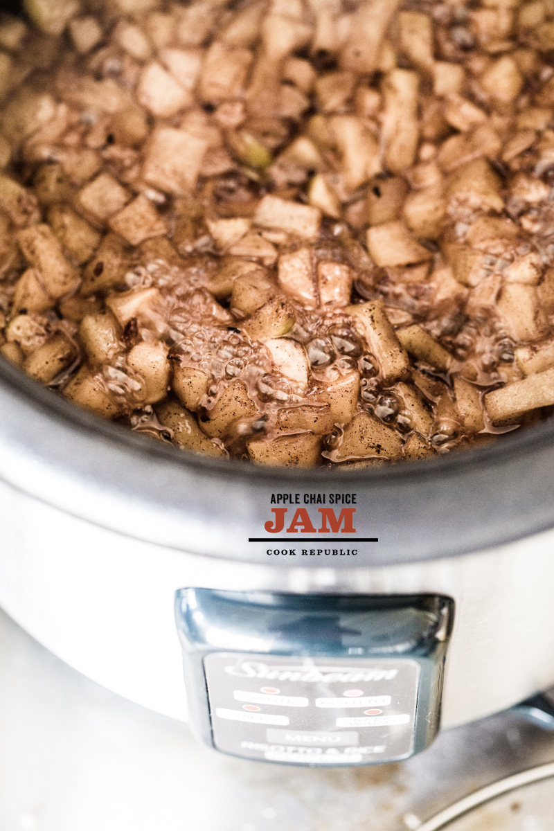 How To Make Rice Cooker Apple Chai Spice Jam
