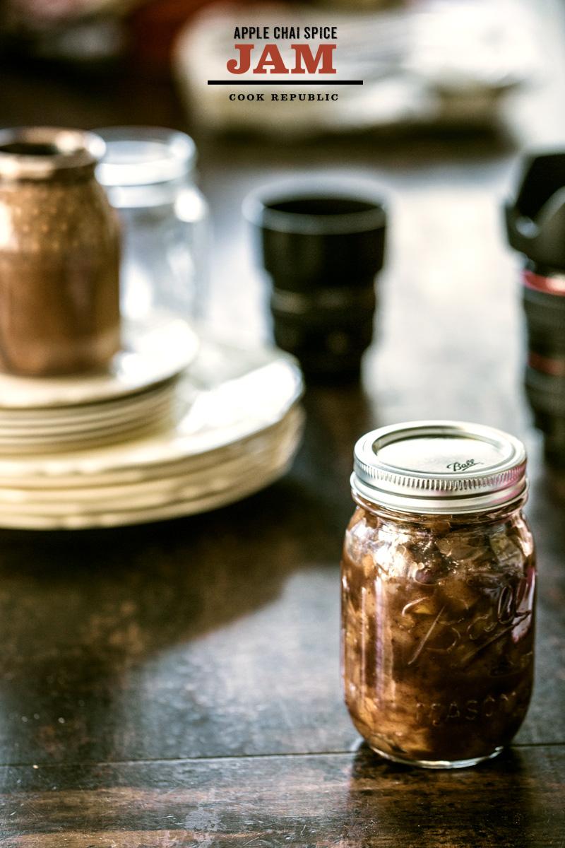 Apple Chai Spice Jam - Cook Republic
