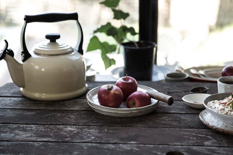 Apple Crumble Bircher - Cook Republic