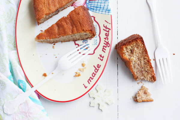 Festive Walnut Babushka Cake