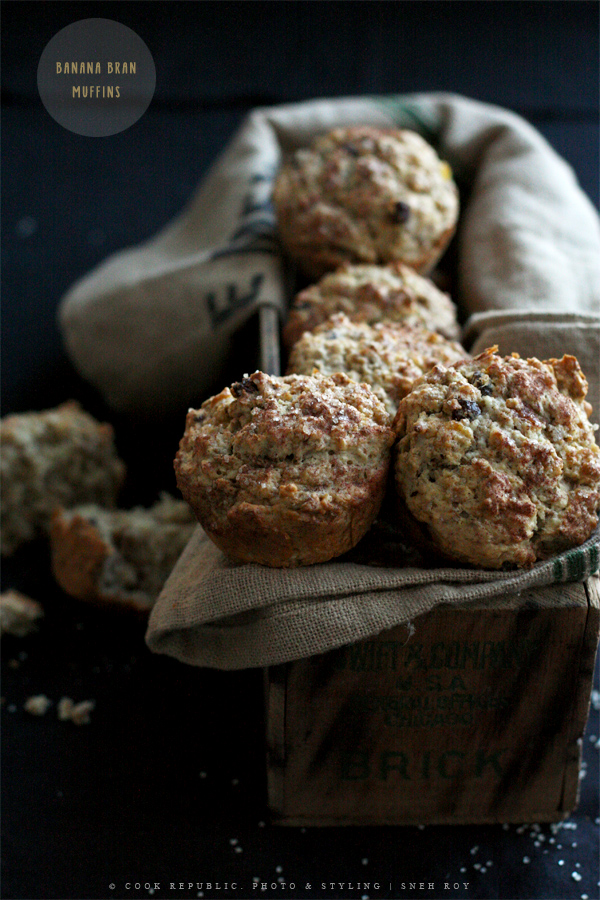 Banana Bran Muffins | Healthy And Virtually Sugar Free