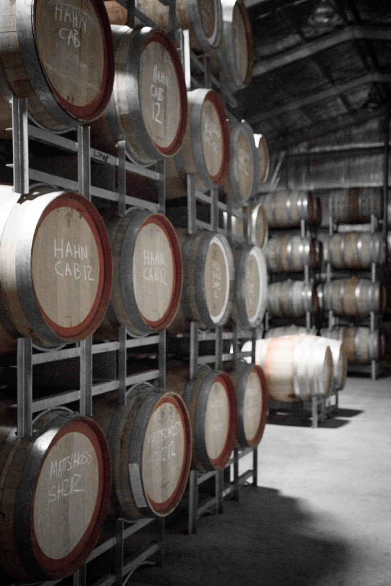 Wine Barrels, Laughing Jack's Wines