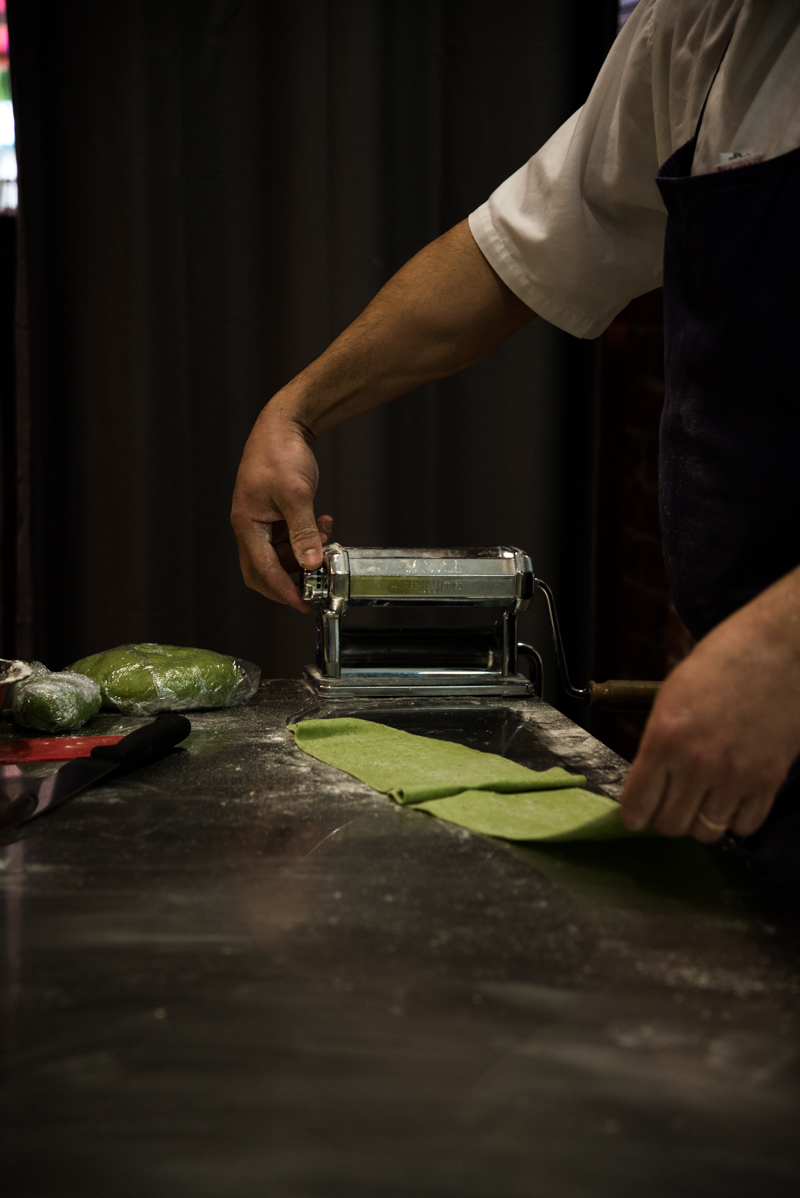 Casa Carboni, Making Nettle Pasta