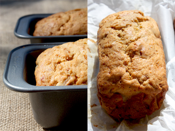 Buttermilk Banana Walnut Bread