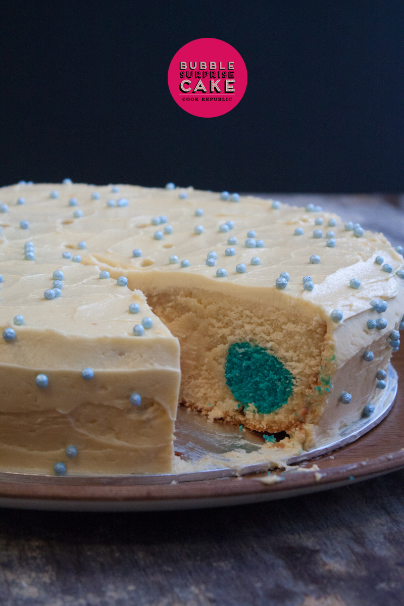 Bubble Surprise Cake - Cook Republic