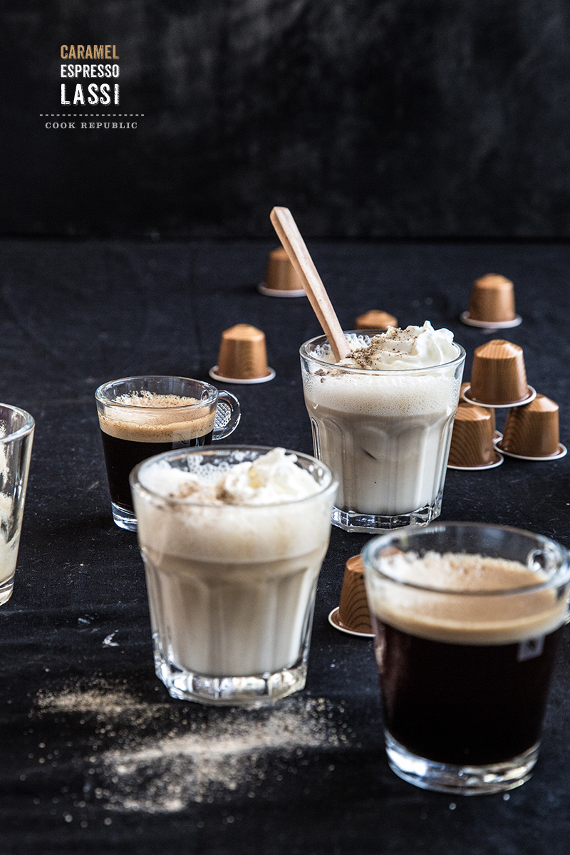 Caramel Espresso Lassi - Cook Republic