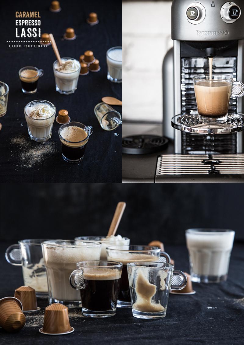 Caramel Espresso Lassi