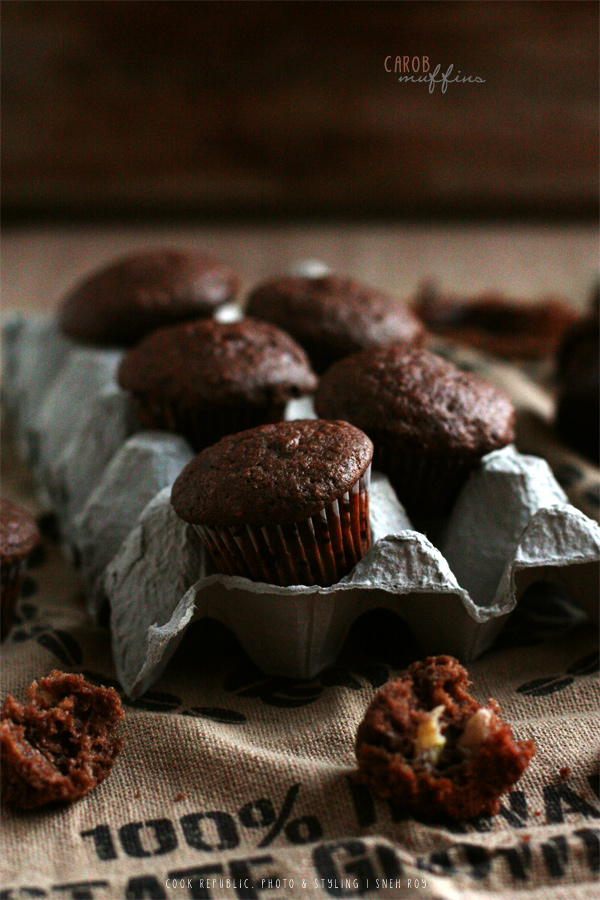 Carob Muffins