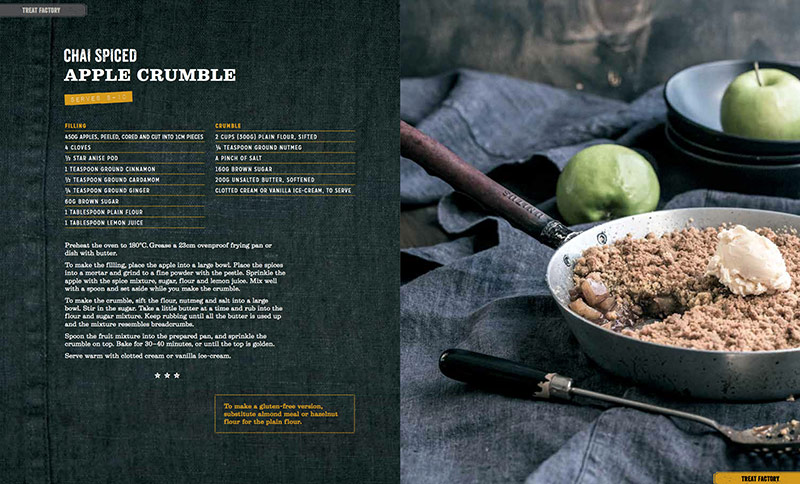 Chai Spiced Apple Crumble - Tasty Express Cookbook