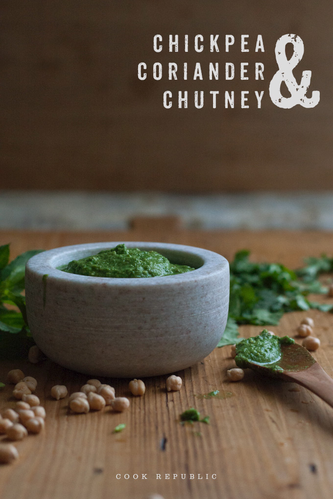 Chickpea And Coriander Chutney - Cook Republic