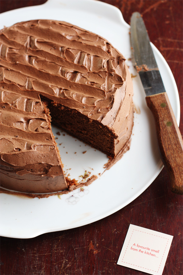 Childhood Chocolate Cake