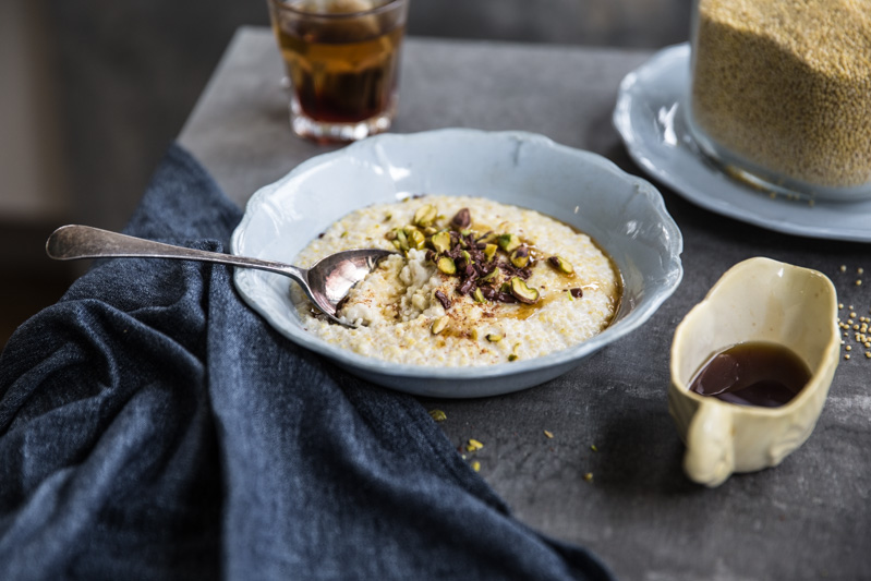 Creamy Coconut Millet Porridge - Cook Republic