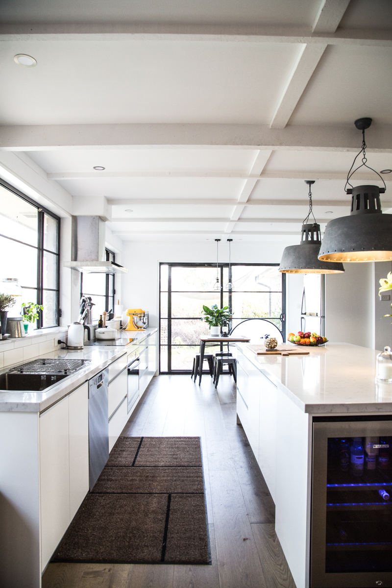 Cook Republic Kitchen Remodel - Industrial Kitchen Design
