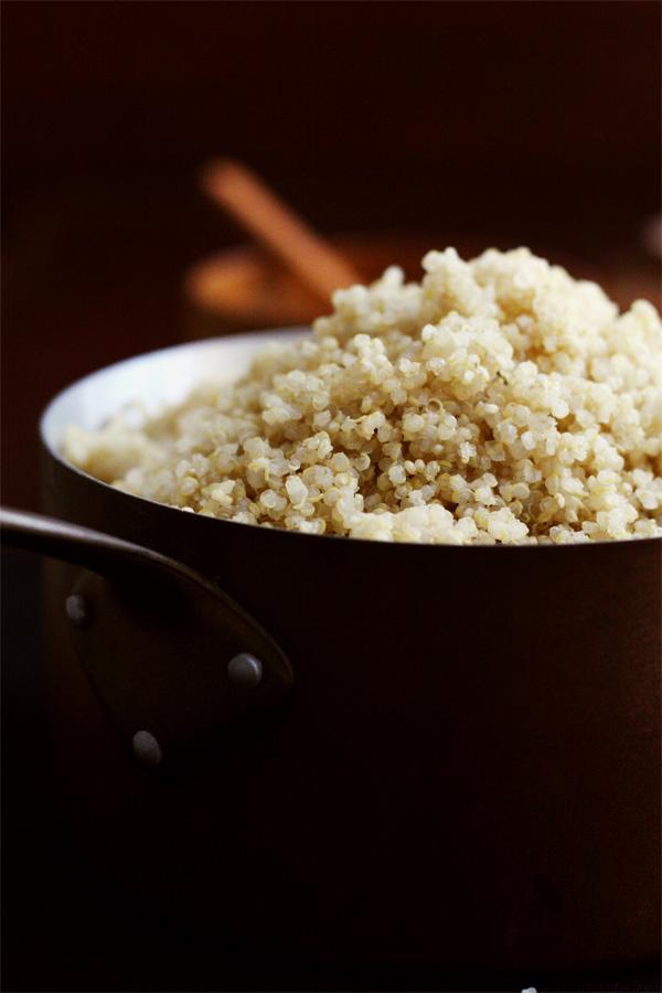 Quinoa Curlicues