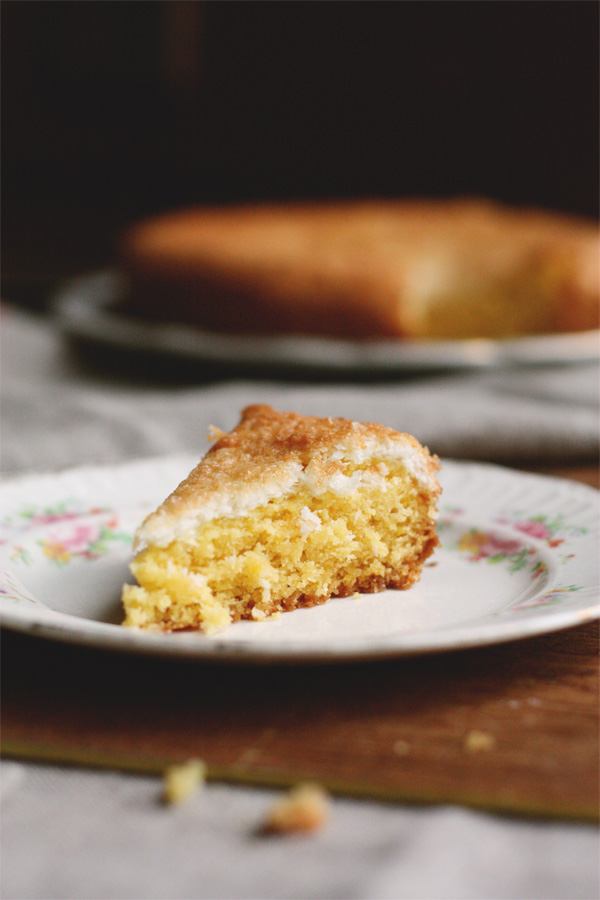 Slice Of Daisy Cake