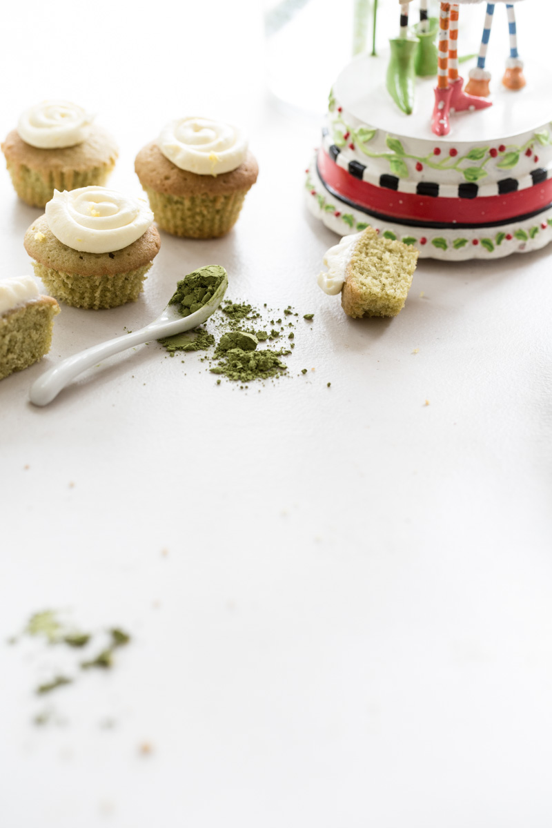 Petite Matcha Teacakes - Photo & Styling, Sneh Roy.