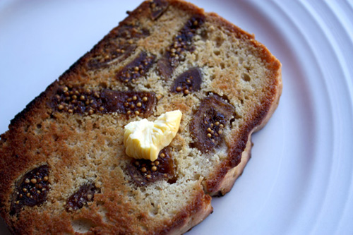 Caramel Cinnamon And Fig Loaf Toasted