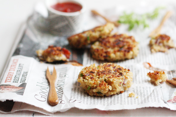 Garlic And Thyme Quinoa Patties