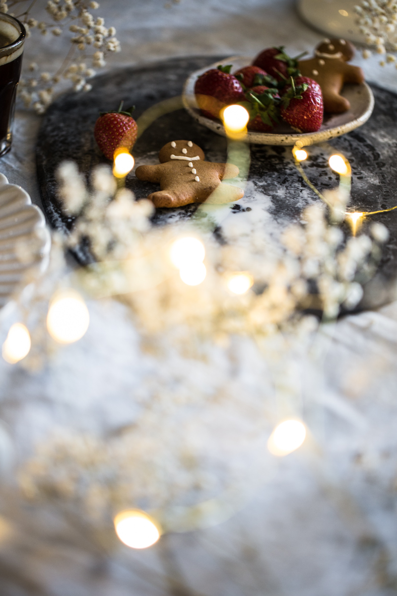 20 Minute Christmas Desserts With Nespresso - Gingerbread Tiramisu Ice Cream, Amaretti Mocha Mousse, Hot Cardamom Cacao