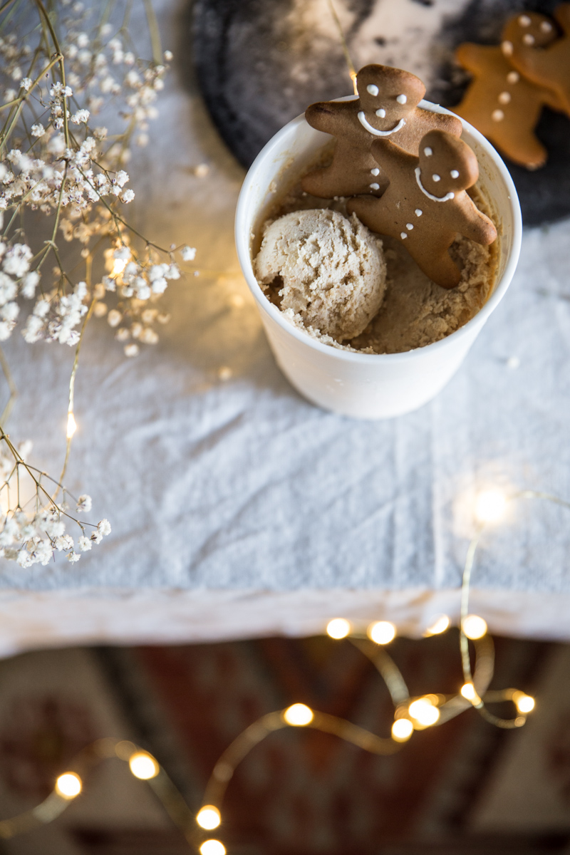 Gingerbread Tiramisu Ice Cream - Cook Republic