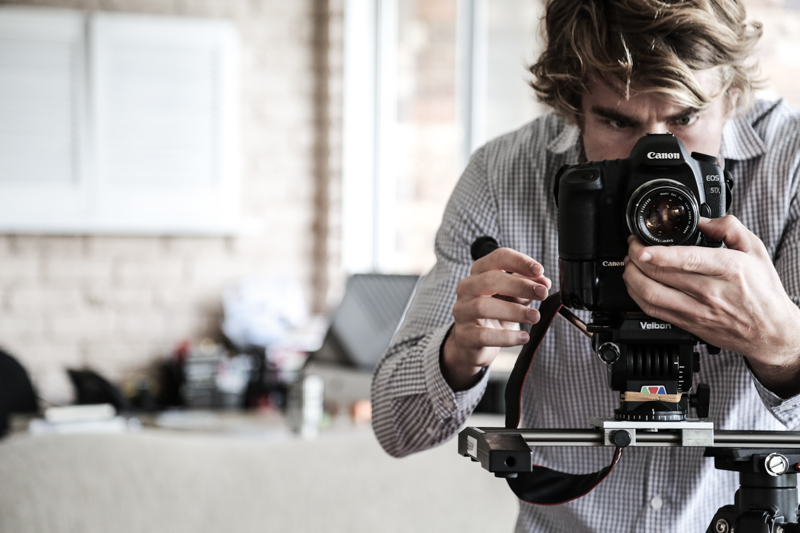 Hayden Quinn And His Camera - Cook Republic