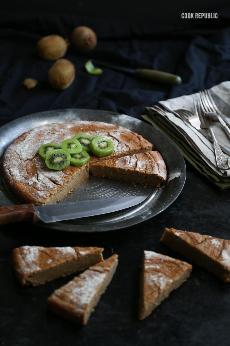 Kiwi Banana Spelt Cake - Cook Republic