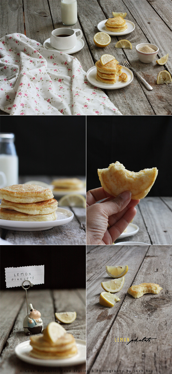 Lemon Pikelets