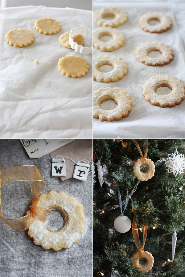 Cookie Dough, Cookie Shapes, Lemon Wreaths.