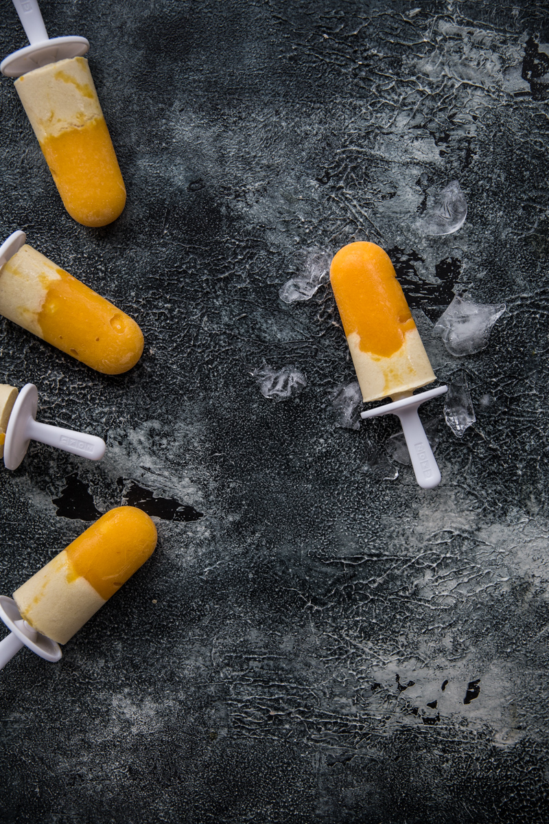 Mango And Coconut Cream Pops - Cook Republic / #vegan #glutenfree