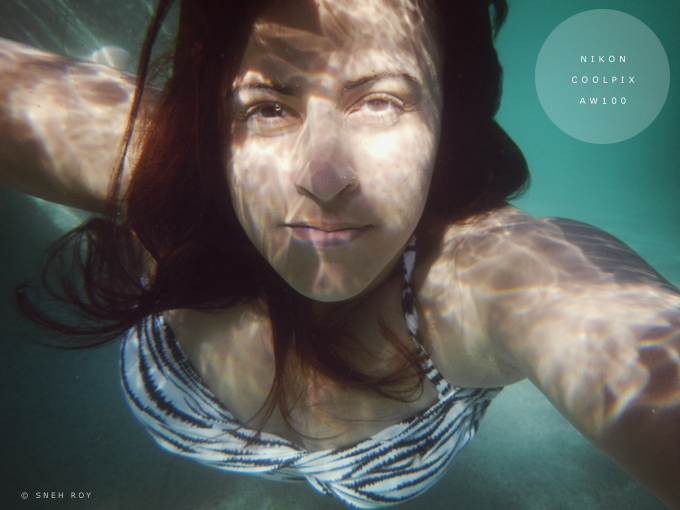 Underwater Self Portrait - © Sneh Roy