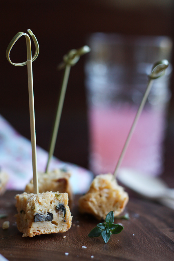 Olive Bread Canapes