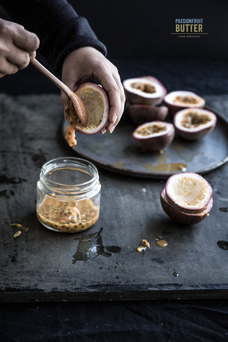 Making Passionfruit Butter - Photo/Styling, Sneh Roy