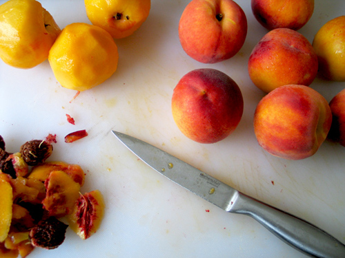 Peach And Lemon Jam