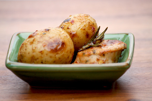 Pan Fried Potato And Weisswurst Warm Salad