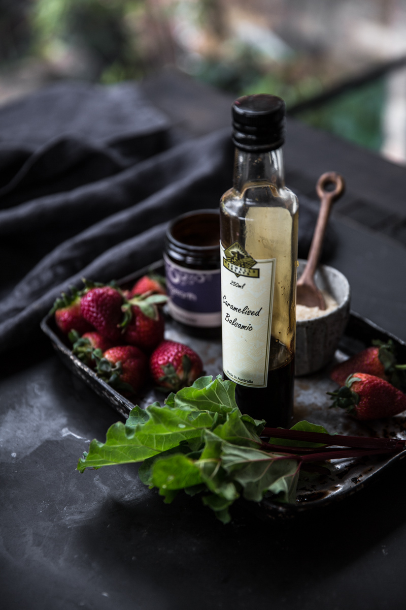 Rhubarb Strawberry Balsamic Jam - Cook Republic