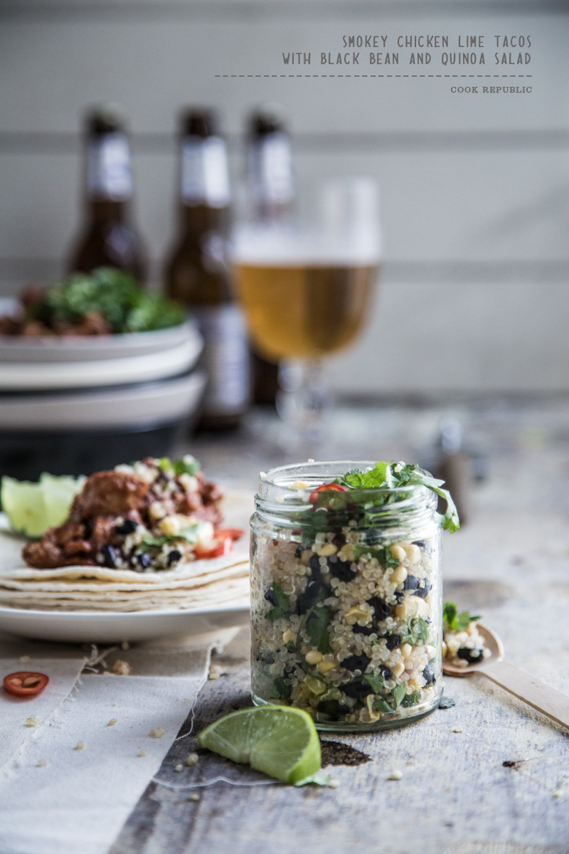 Black Bean And Quinoa Salad - Cook Republic