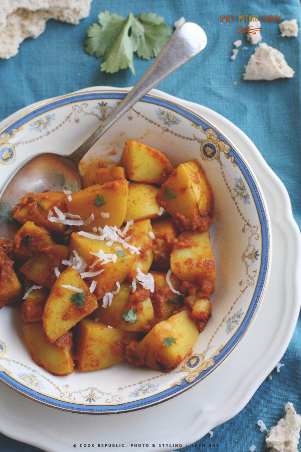 Easy Potato Curry | Cook Republic