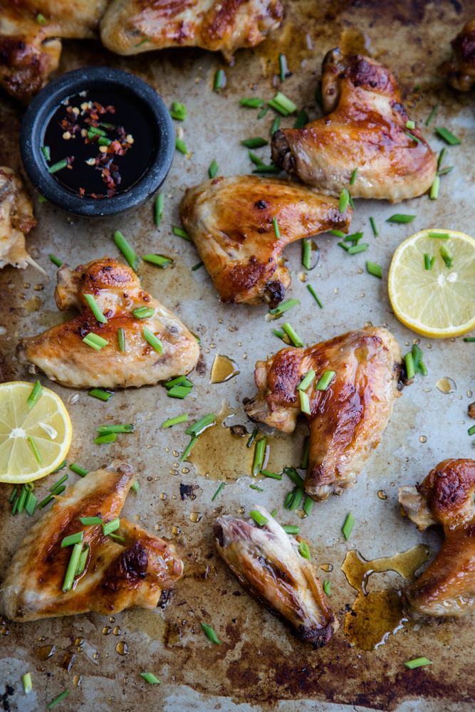 Sticky Caramel Chicken Wings - Cook Republic