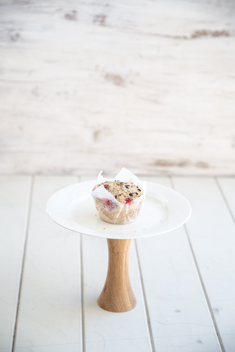Strawberry Coconut Breakfast Muffin - Photo & Styling, Sneh Roy