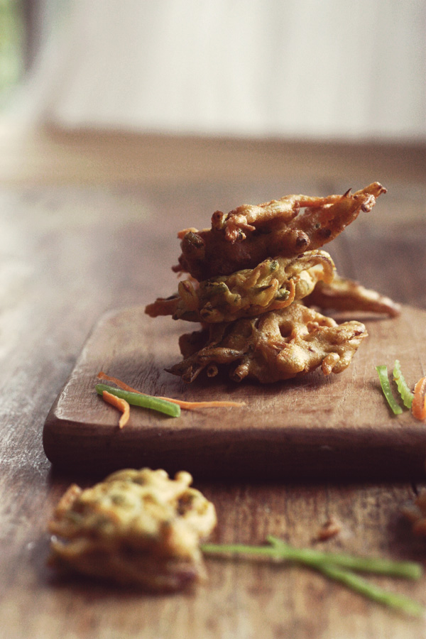 Fritters - Indian Bhajis