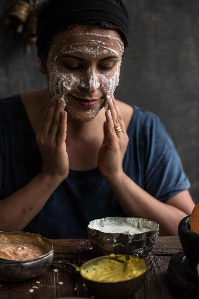 Honey, Oat And Yoghurt Face Mask - Cook Republic