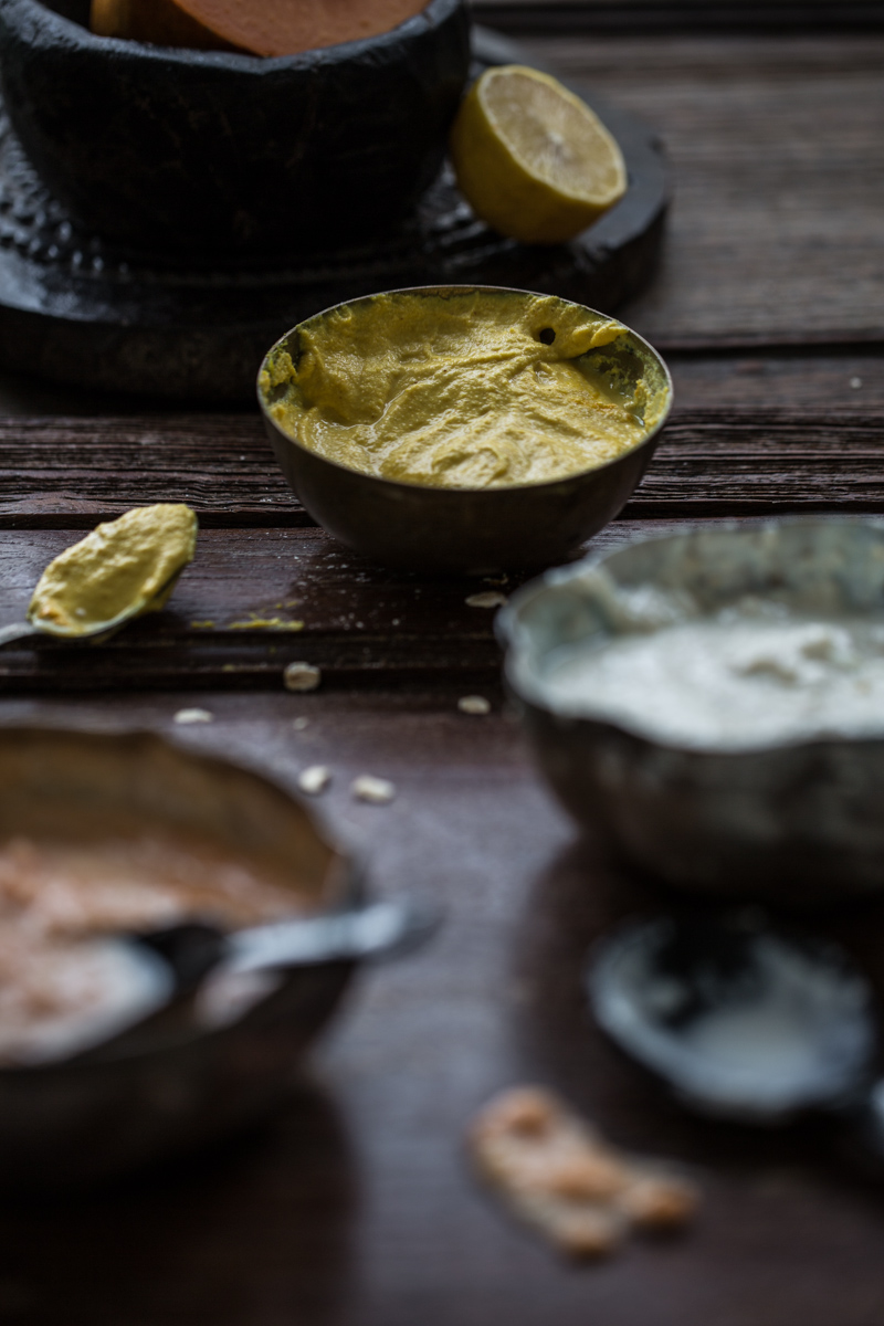 Turmeric, Chickpea And Dahi Beauty Face Mask - Cook Republic