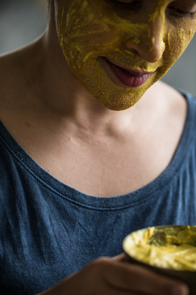 Turmeric, Chickpea And Yoghurt Face Mask - Cook Republic