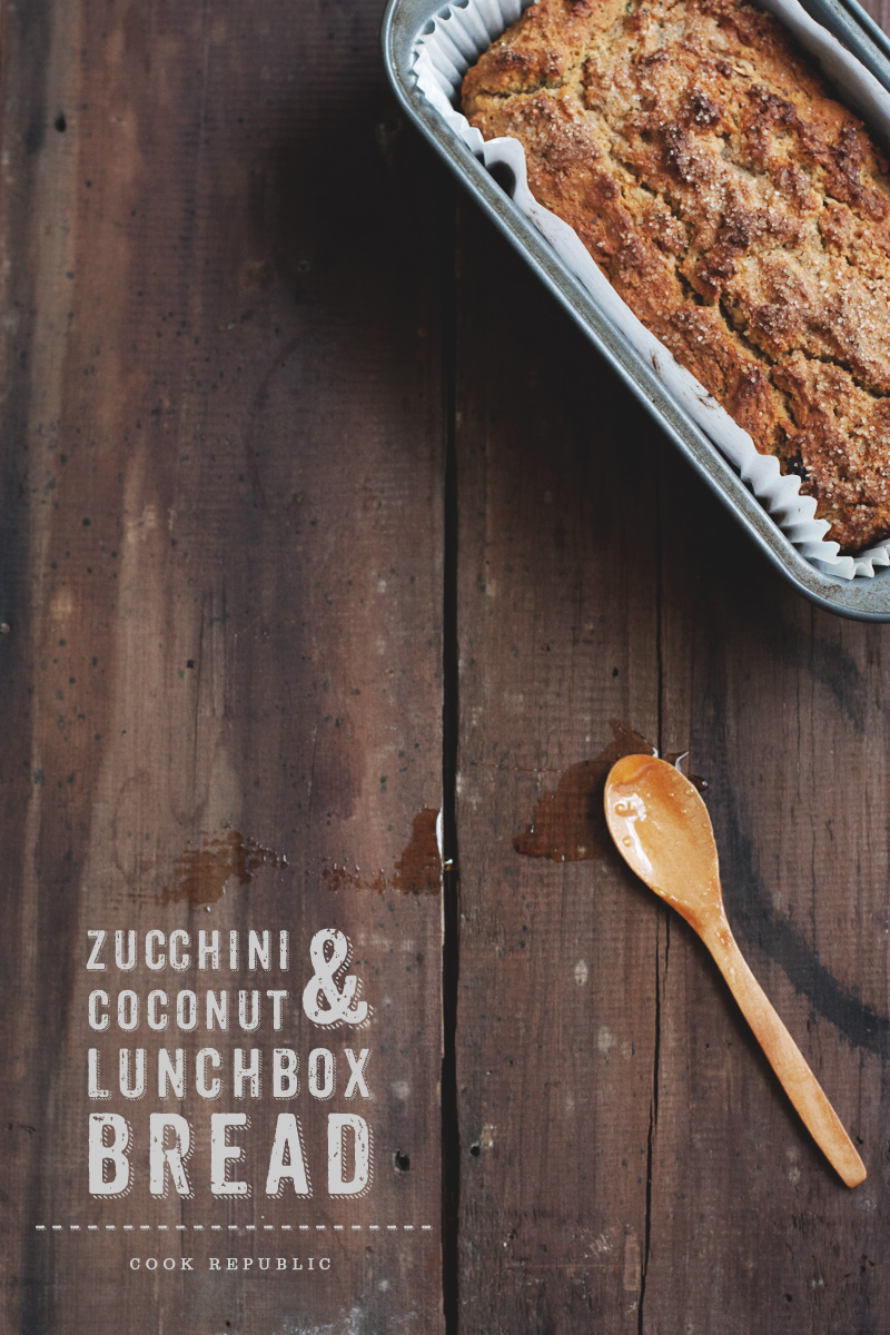 Zucchini Coconut Bread With Rice Malt Syrup